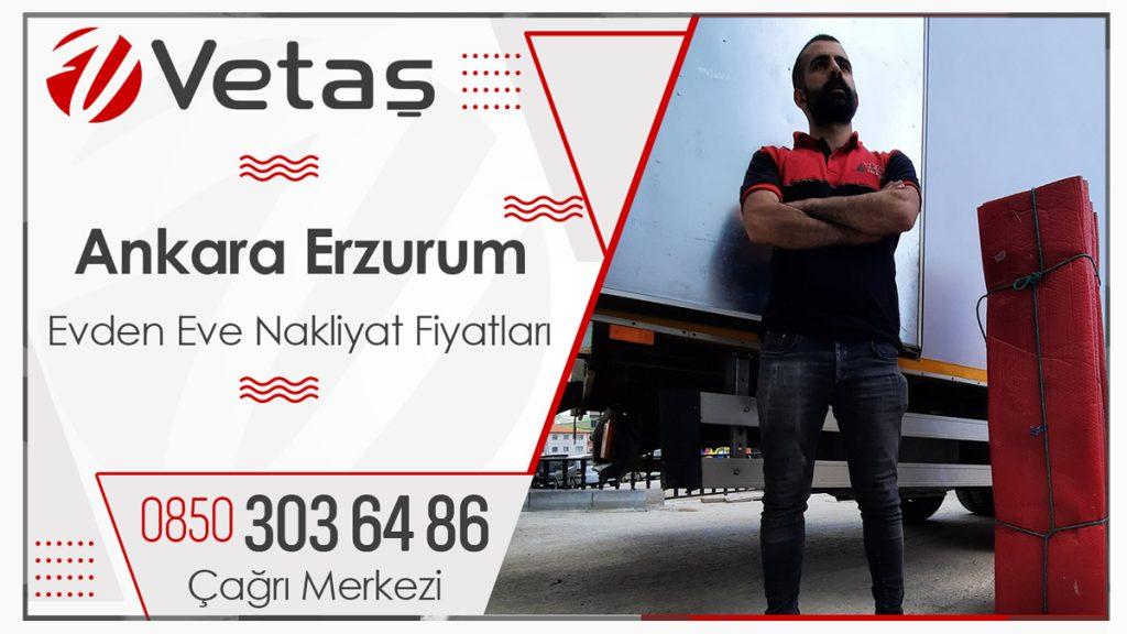Ankara Erzurum Nakliyat Fiyatları